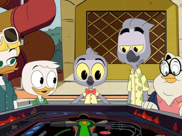 DuckTales, bağlantı kurma mücadelesi hakkında bir şeyler söylemek istiyor ama bir con gibi hissediyor