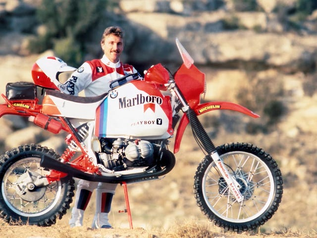 BMW Won Dakar I 1985 With A Busted Junker Of A Motorcycle