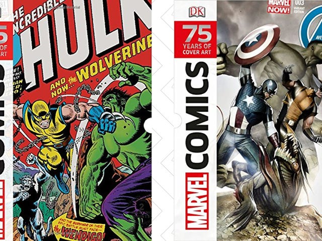 320 Pages of Marvel Cover Art, Now Just $14