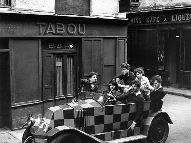 Hipsters parisiens, 1940