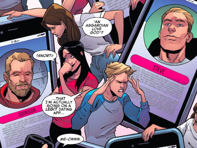 Marvel's Superheroes Are on Hookup Apps and Hate It Just Like Everyone Else