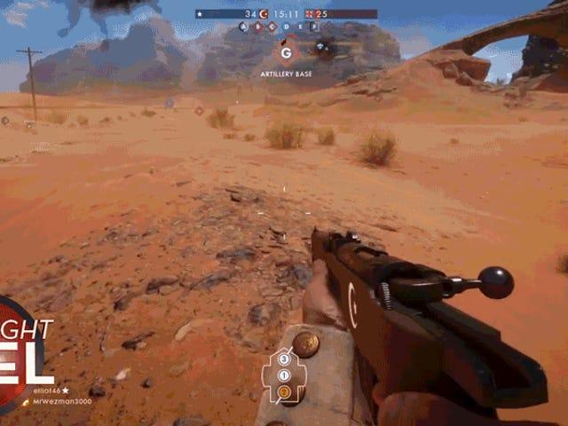 <i>Battlefield 1</i> Alanında Bir Uçaktan Çıkmanın Kötü Bir Yolu <i>Battlefield 1</i>