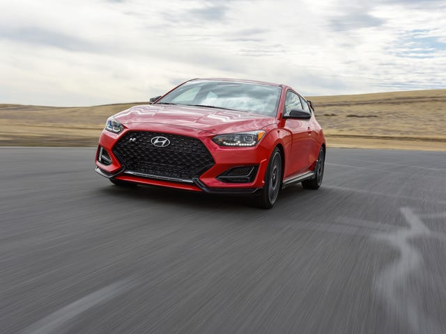 The 2019 Hyundai Veloster N Is Coming For The GTI's Hot Hatch Lunch Money