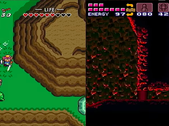 Inside The Wild New Mash-Up Of Link To The Past And Super Metroid