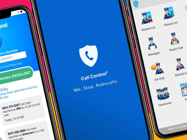 Block Robocallers With Call Control Premium, Now Just $20 (30% Off)