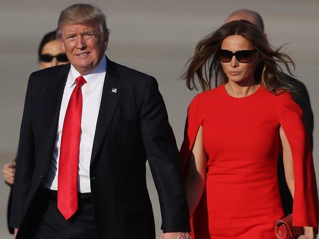 Melania Trumps ven rapporterede fortalt hende, at det var bedst 'lyste analfabeter'