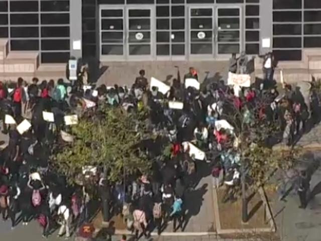 Hundreds of NJ Students Protest After Cop's Manhandling of 2 Teenage Girls