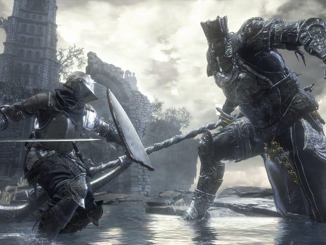 <i>Dark Souls 3</i> Gracz Sprawdź Dzię kszĘ ... Dzię kujĘ ... cĘ ... Drogę PokonajĘ ... Bossa