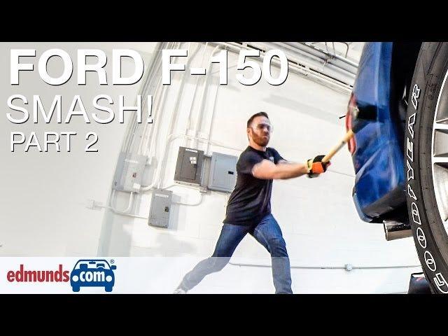 У нас Скільки це коштує виправити Dents На Алюмінієвому 2015 Ford F-150