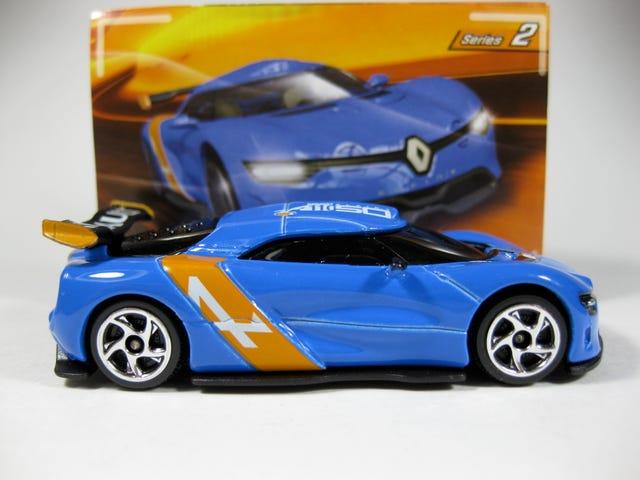 Majorette Racing Cars Series 2 (태평양 표준시 2Renault 알파인 ZAR)