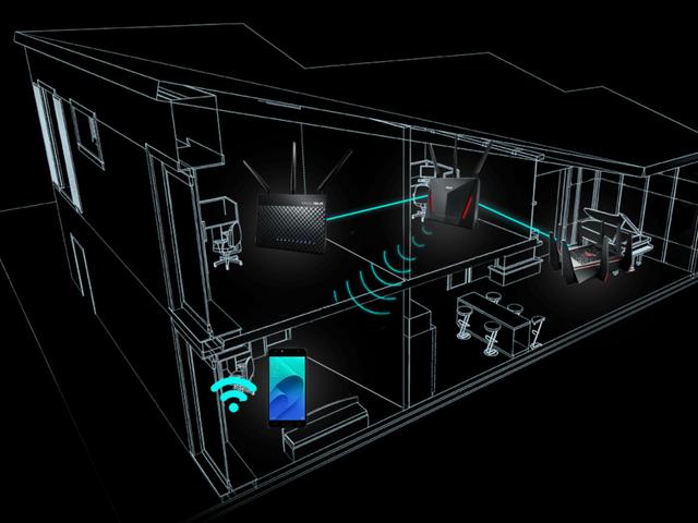Verander uw oude Asus-routers in een mesh-netwerk met deze software-update