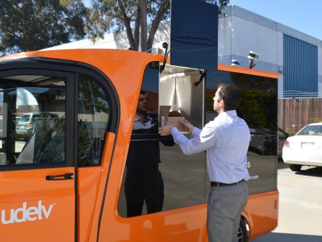 Oklahoma to Host Fleet of Udelv Autonomous Delivery Vehicles