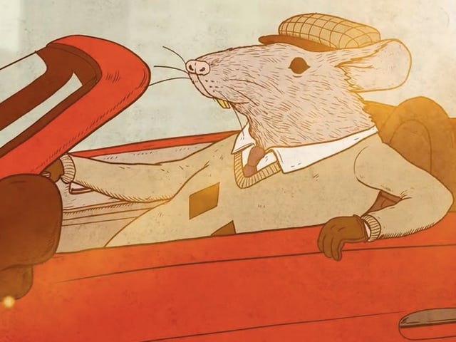 The Rat Race Gets a Literal Interpretation in This All-Too-Relatable Animated Short