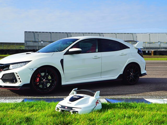 Honda made A Type R Lawnmower
