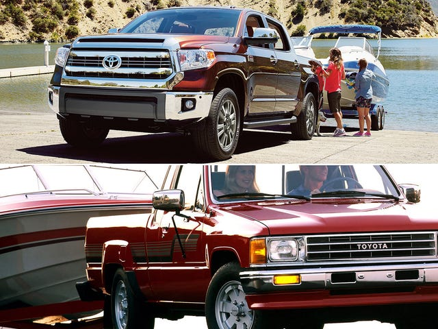 New Pickup Trucks Get The Same Gas Mileage They Did In The '80s