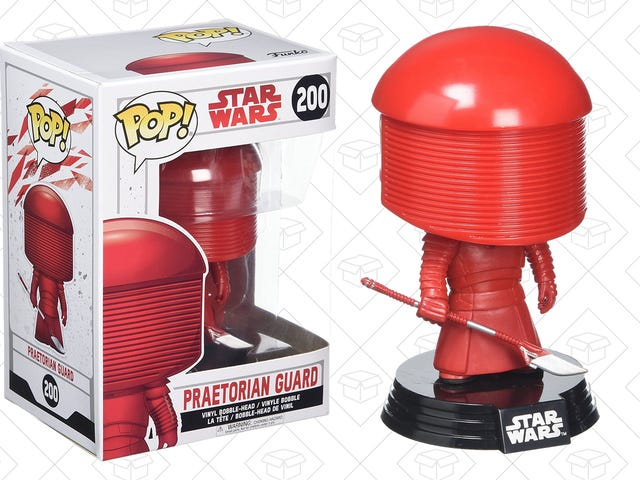 Recreate The Only Fight That Mattered In The Last Jedi With This $4 Praetorian Guard Funko POP!