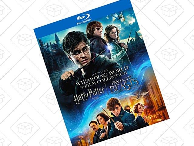 Amazon's Castin hinta kutistuu Spell on tämä Wizarding World Box Set