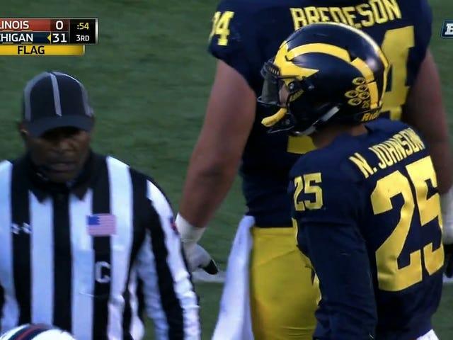 Michigan Football Dismisses Defensive Back Nate Johnson After Domestic Violence Arrest