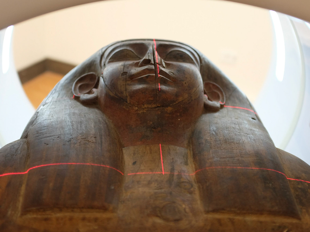 Supposedly Empty Egyptian Coffin Actually Contains a Mummy