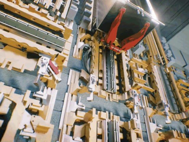 En plus de l'ascenseur des câbles, des câbles, des câbles et des câbles à 5 mètres par seconde