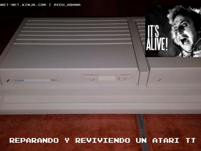 Reparando y reviviendo un Atari TT