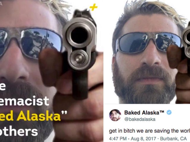 White Supremacist Threatens to Sue News Outlet Over Photoshopped Gun (That He Tweeted a Month Earlier)