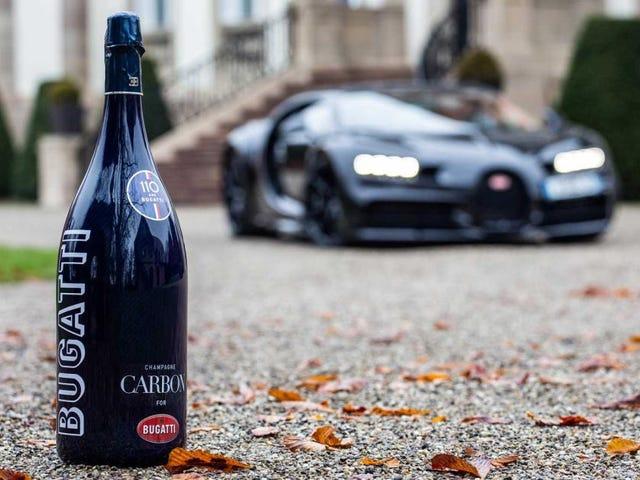 Không ai trong số bạn được mời để nhận rác trên Bugatti Champagne mới của tôi