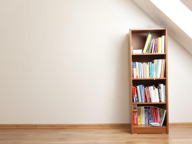 Transformez votre ancienne bibliothèque en centre d'activités sensorielles