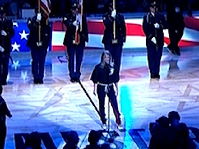 "Rehearsal Footage Shows Fergie Unsure About ""Star-Spangled Banner"" Rendition Before Disastrous Performance"