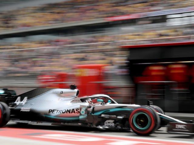 Ferrari kann sich als Mercedes Nabs Dritter Grand Prix 1-2 Sieg in Folge entwirren