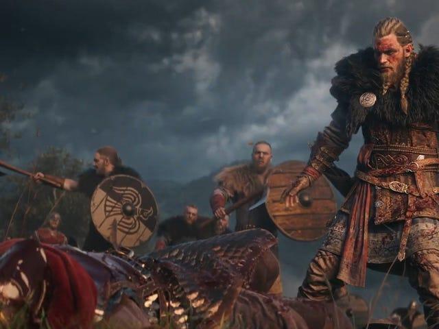 Assassin's Creed Valhalla in arrivo su console vecchie e nuove di nuova generazione, con scelta tra protagonisti maschili o femminili