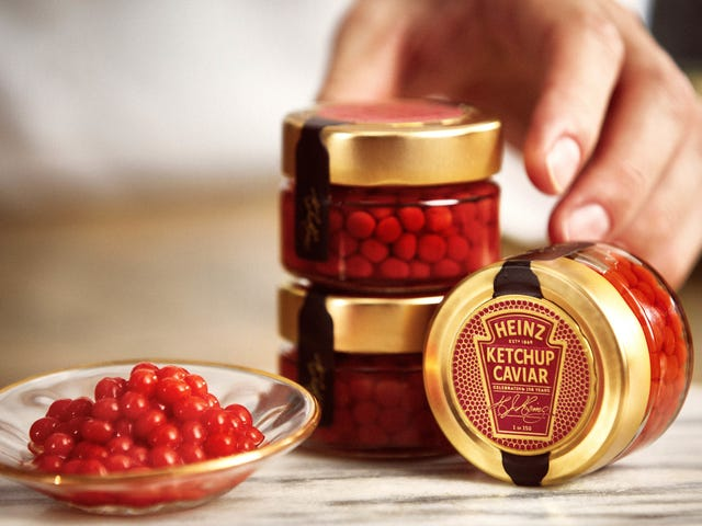 Heinz releases Ketchup Caviar to class up your Valentine hot dogs