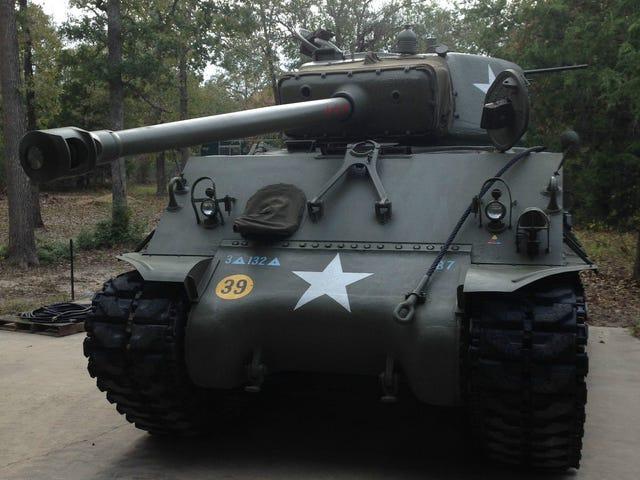 NPOCP: คุณสามารถซื้อ Sherman Tank ของคุณเองได้เช่นกัน