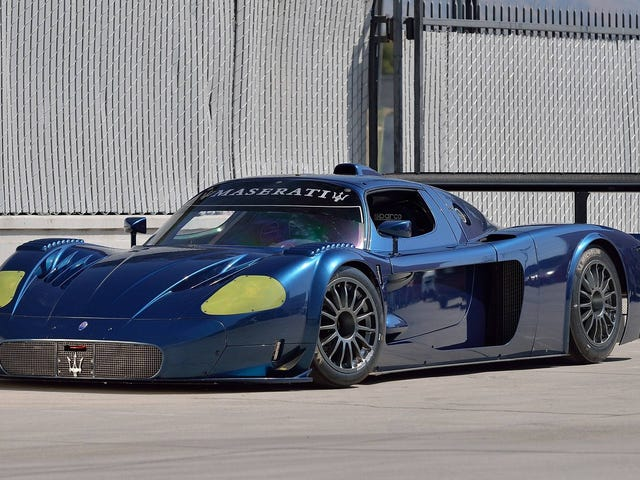 The Maserati MC12 Versione Corse Is A Track-Only Car So Pretty It Makes An Enzo FXX Look Boring