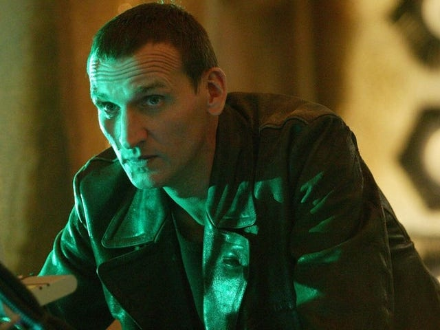 Stephen Moffat Shares Snippet of Christopher Eccleston's Rejected Doctor Who Cameo