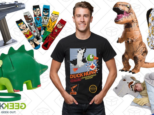 ThinkGeek Added Hundreds To Their Massive Winter Sale