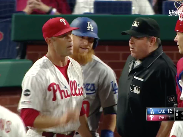 Justin Turner Defends Pitcher Who Just Plunked Him From Overreacting Umpire