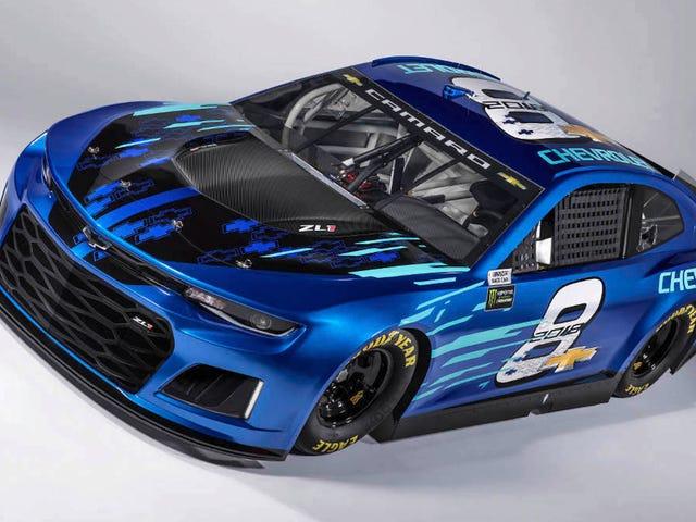 El nuevo Camaro ZL1 NASCAR de Chevy es ... Maldición