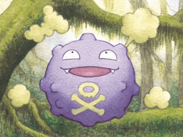 I fan possono ora votare per il miglior Pokémon, che è Koffing