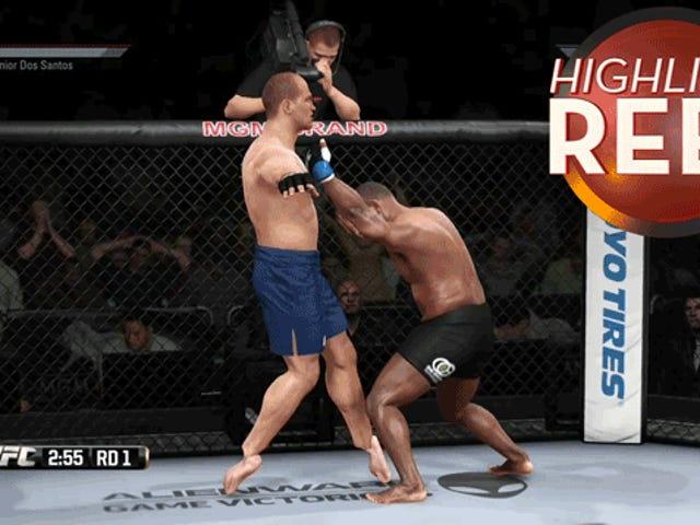 这不是战斗的工作, <i>UFC</i>游戏