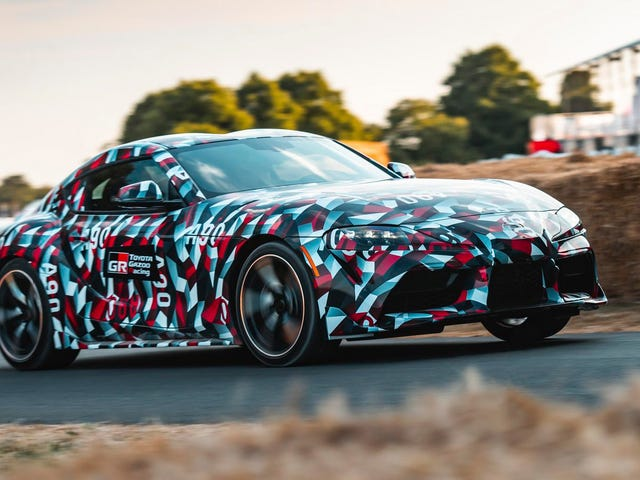 The 2019 Toyota Supra Will Have Torque on Par Dengan Lexus F tetapi Timbang Kurang