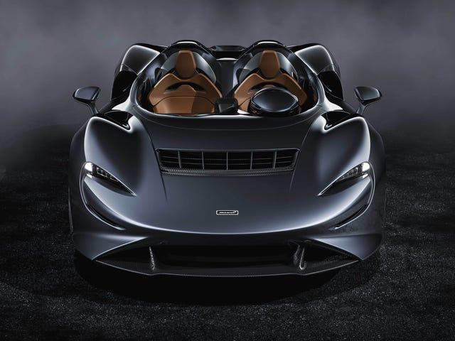 McLaren Elva 804-HP จะปกป้องคุณจากการถูกแมลงกัดฟันโดยไม่มีกระจกหน้ารถได้อย่างไร