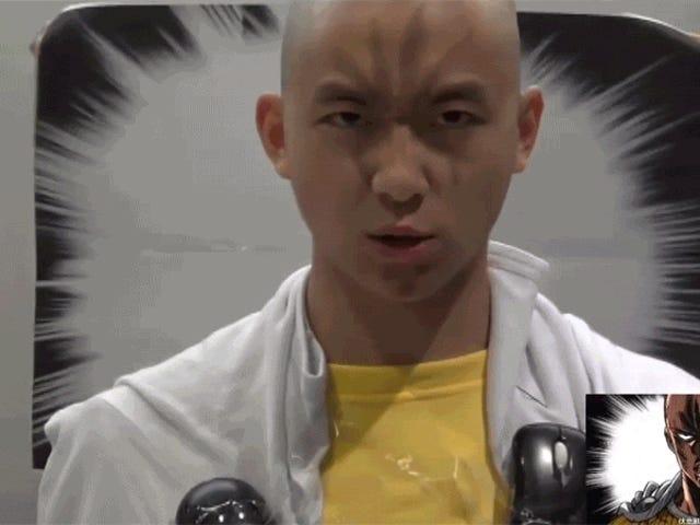 <i>One-Punch Man</i> σκηνή σκληρής εκγύμνασης <i>One-Punch Man</i> αναζωογονεί την εκτόξευση