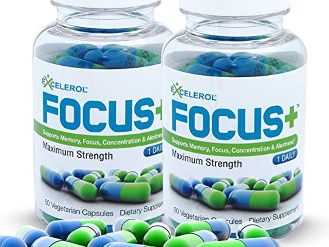 FOCUS+ Brain Supplement And Memory Support Pill (120 Capsules) $24.3