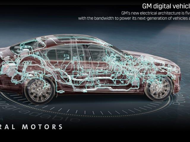 Les nouvelles caractéristiques électriques de GM pourraient expliquer pourquoi la Corvette à moteur central n'est pas encore arrivée