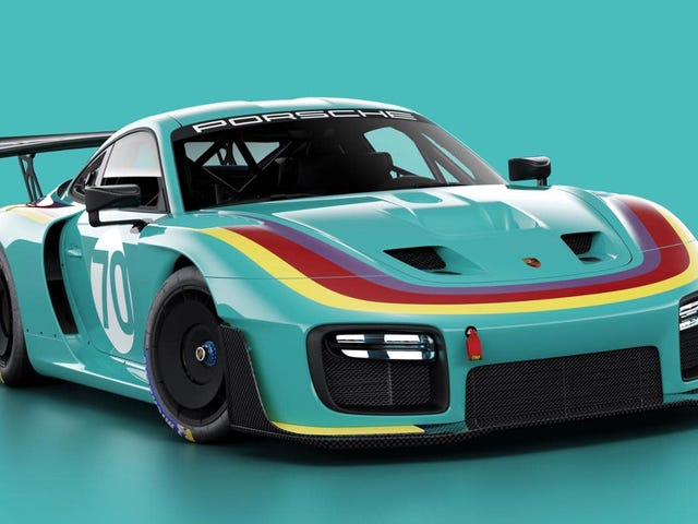These Throwback Liveries for the New Porsche 935 Are Stunning