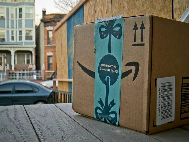 La policía está repartiendo paquetes falsos de Amazon con cámara oculta para atrapar ladrones en Estados Unidos