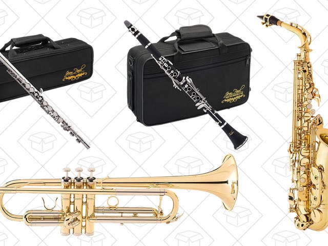 Annoy The Neighborhood With The Band Instrument Gold Box