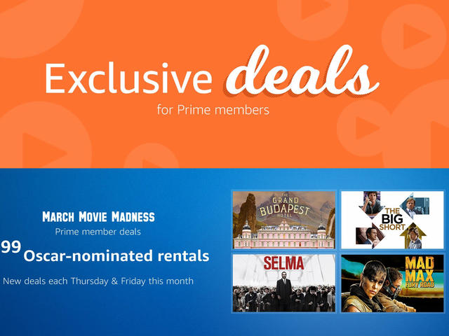 Prime Members Can Rent A Bunch of Recent Oscar Nominees For $2 Each