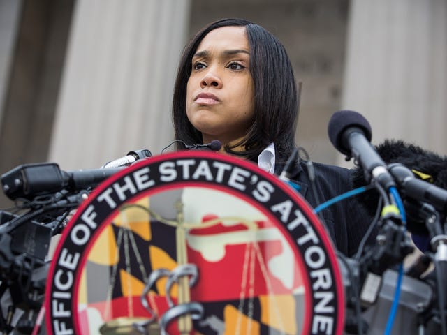 Baltimore City State's Attorney Marilyn Mosby Is Receiving Death Threats